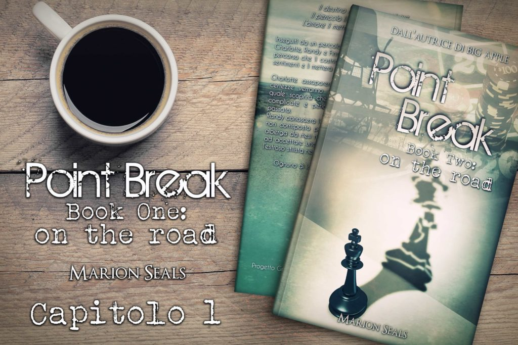 banner Capitolo 1 release Point Break – on the road